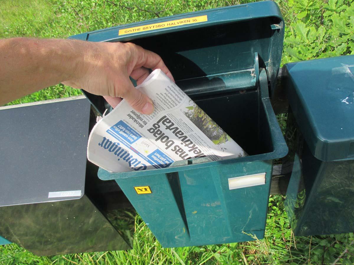 Hämta tidningen