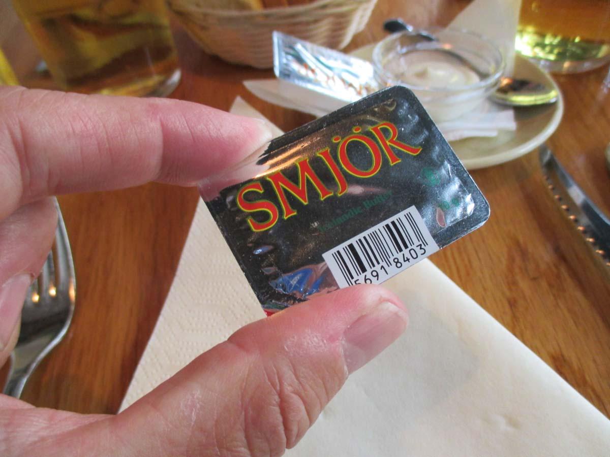 Hur stavar man 'smör' på Isländska?