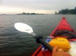 Mycket långsammare och tystare på sjön