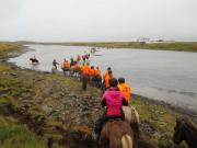 Vi korsar floden före tidvattnet stiger