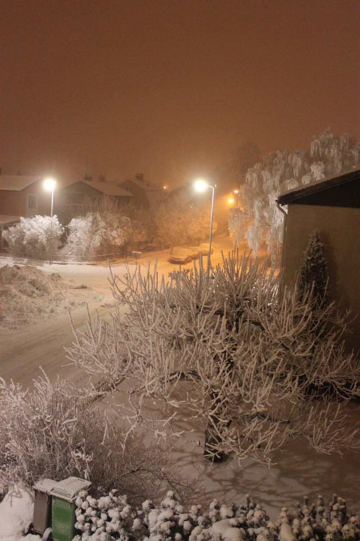 Vinter på Lindgatan