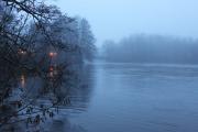 Vinter vid strömmen