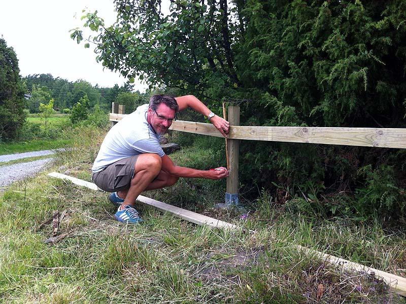 Nytt staket i HÃ¥lviken – GOTHE.SE