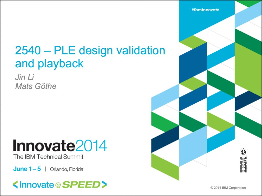 2540-PLE_design_validation_and_playback