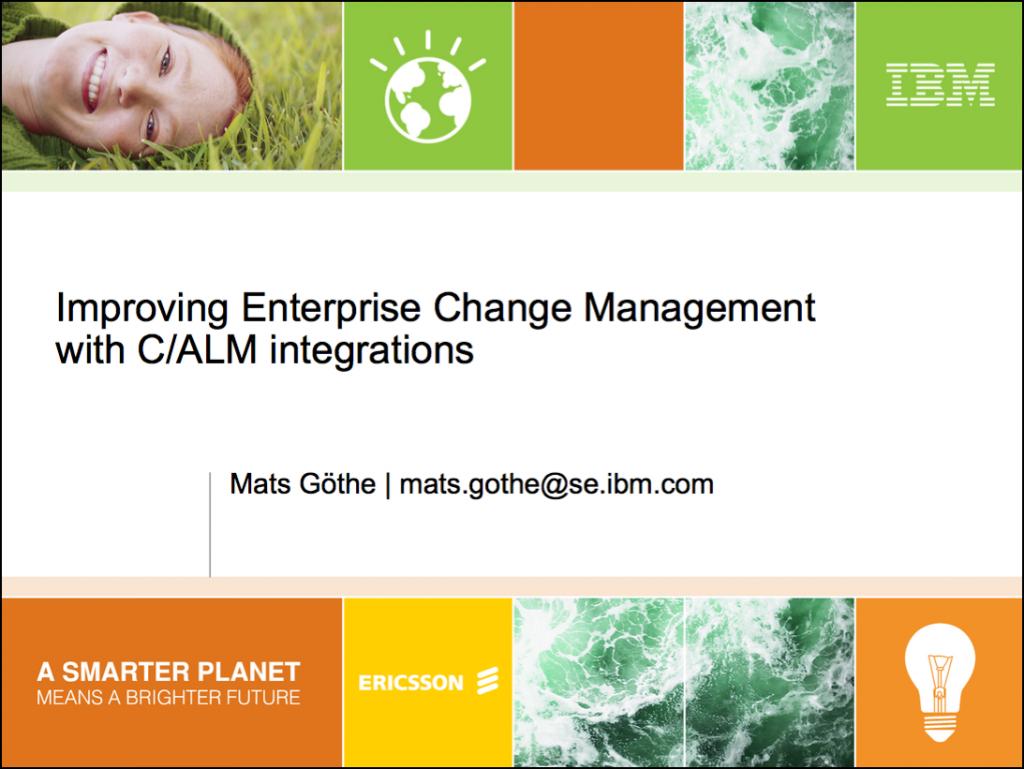 ERUC09-EnterpriseCM_and_CALM