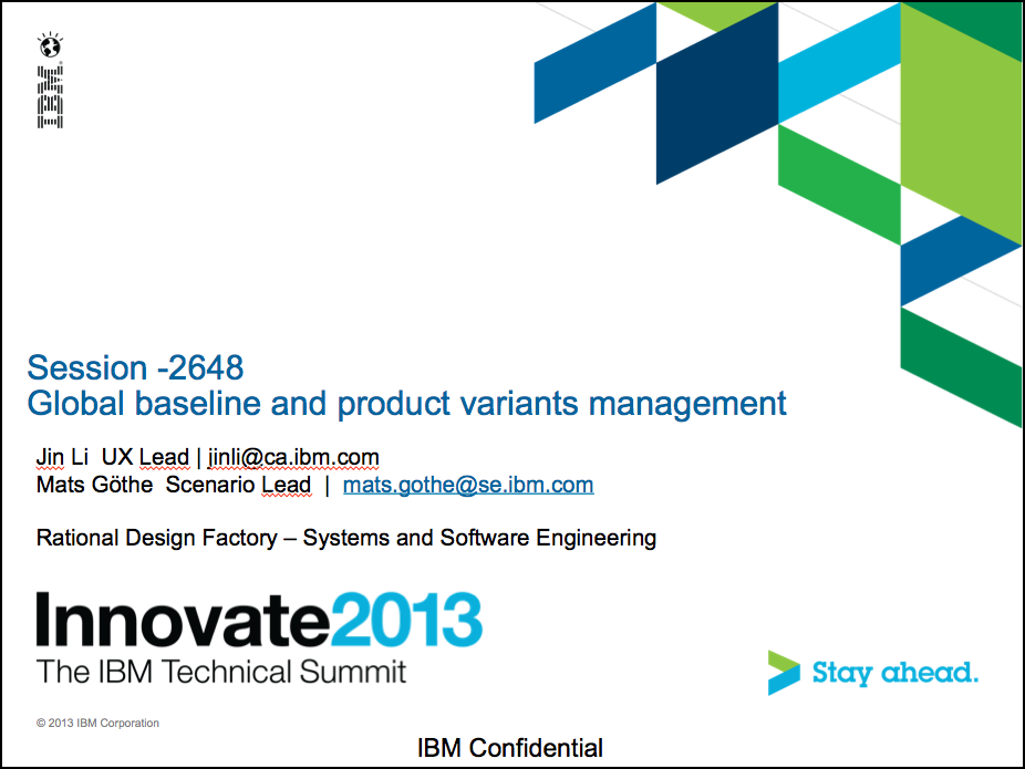 Innovate2013-2648_Global_baseline_and_product_variants_management